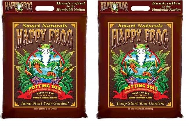Fox Farm FX14082 Happy Frog Soil Potting Soil Bag