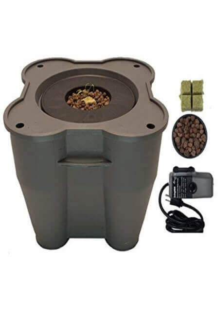16.5 Gallon Deep Water Culture (DWC) Hydroponic Growing System Complete Kit