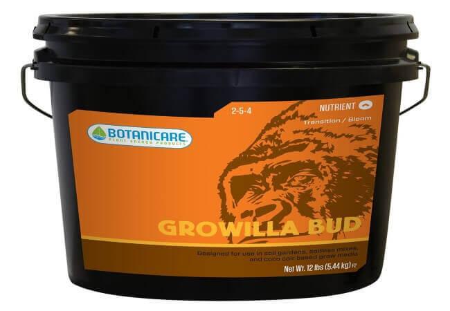 Botanicare NGBUD25 GROWILLA Bud Plant Nutrient, 25-Pound