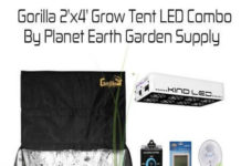 Gorilla Grow Tent LED Combo Package