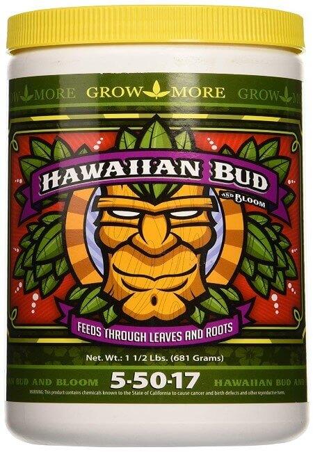Grow More 7508 Hawaiian Bud 5-50-17, 1.5-Pound