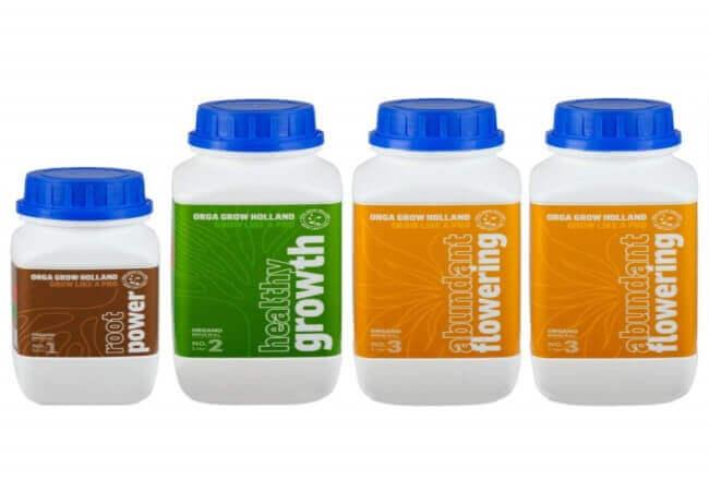 Organic Nutrients For Marijuana Plants - Liquid Fertilizer For Hydroponic, Vegetables, Fruit & Cannabis
