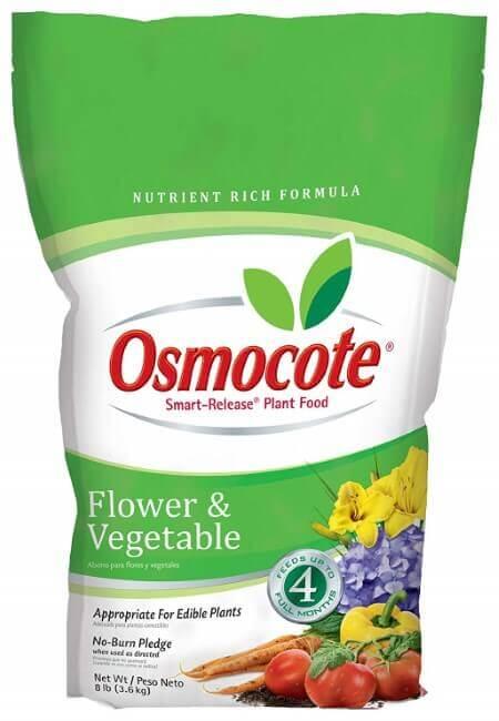 Osmocote Smart-Release Plant Food Flower & Vegetable, 8 lbs