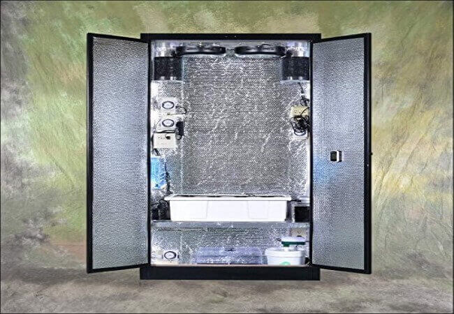The Stanley MAX Turn-key Stealth Hydroponic Grow Box with Cloning Chamber
