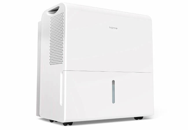 hOmeLabs 30 Pint 1,500 Sq. Ft Energy Star Dehumidifier for Medium to Large Rooms and Basements - Efficiently Removes Moisture to Prevent Mold, Mildew