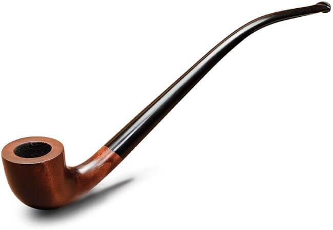 KAFpipe Long Churchwarden Tobacco Smoking Pipe Model KAF233